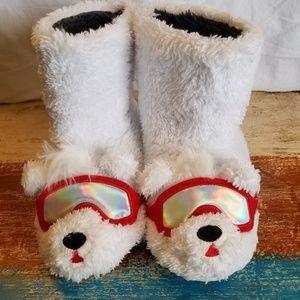 Childrens Bear slippers size medium